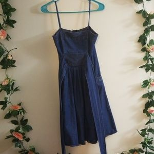 Nordstrom Rack Just for Wraps denim dress 3 4